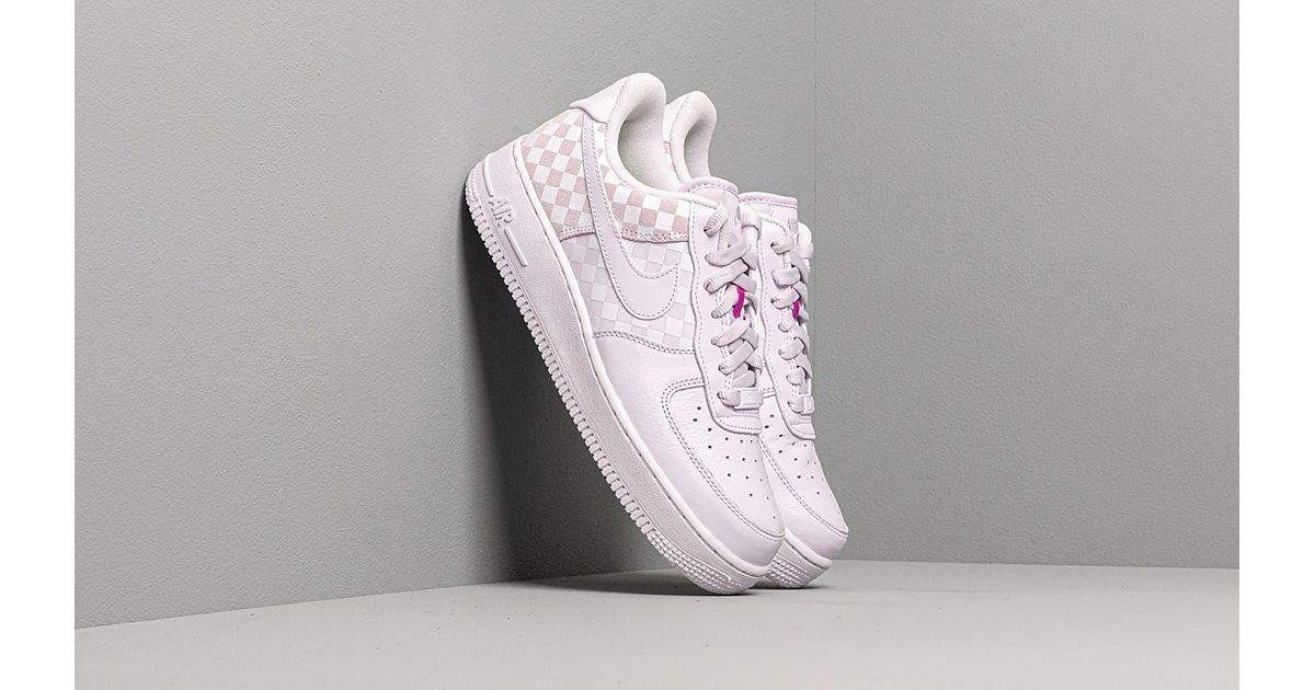 nike air force 1 barely grape