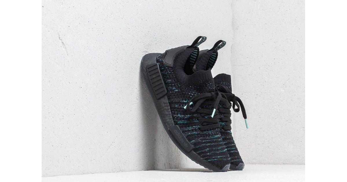 b4b6d6035bab7 Lyst - adidas Nmd r1 Stlt Parley Primeknit Shoes in Black for Men
