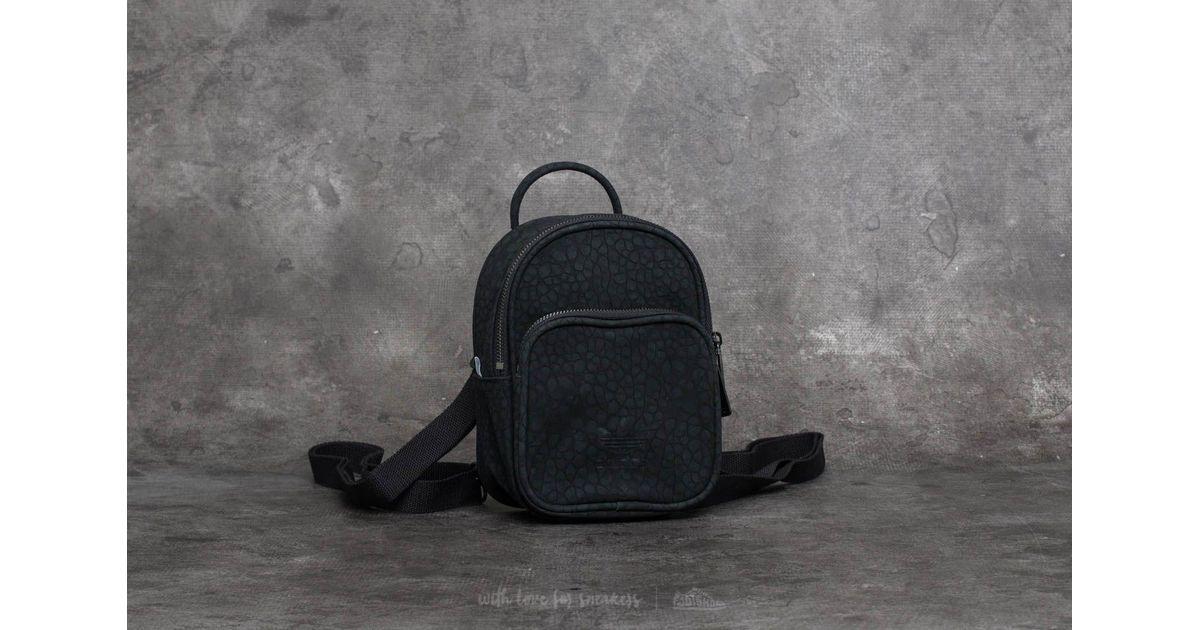 da394fc1a5d4 ... Lyst - Adidas Originals Adidas Ac Classic Mini Backpack Blac low cost  23a82 77279 ...