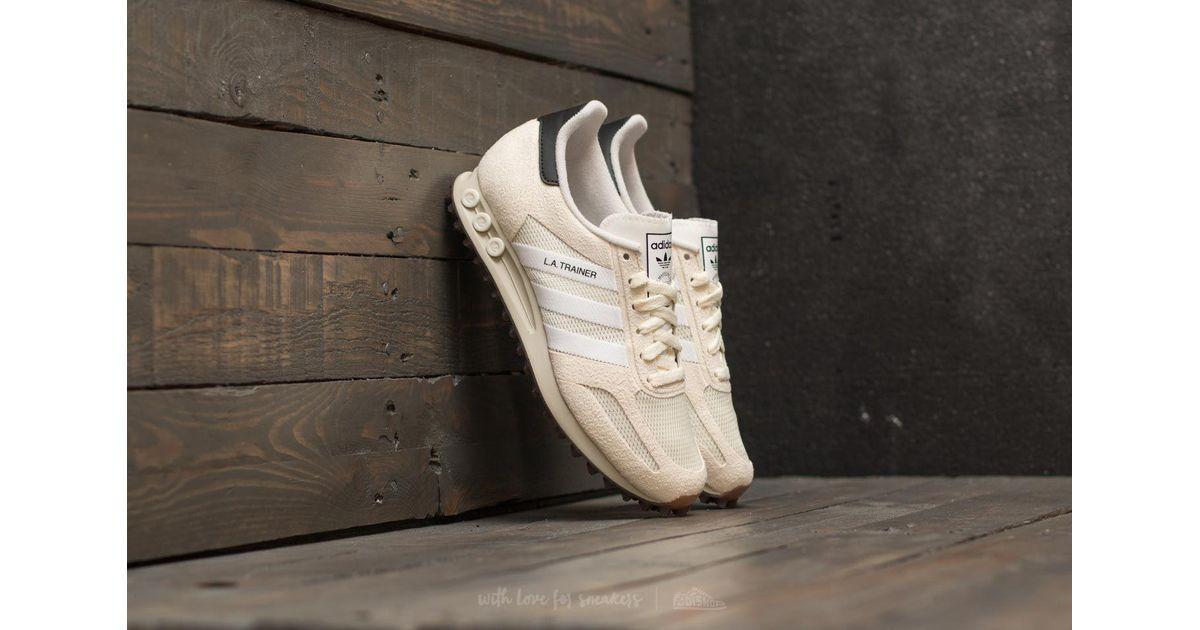 Adidas Originals Adidas La Trainer Og Off White Ftw White Gum for men
