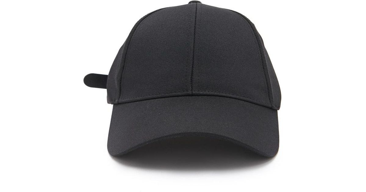 0ace6476e Forever 21 's Faux Leather-strap Dad Cap in Black for Men - Lyst