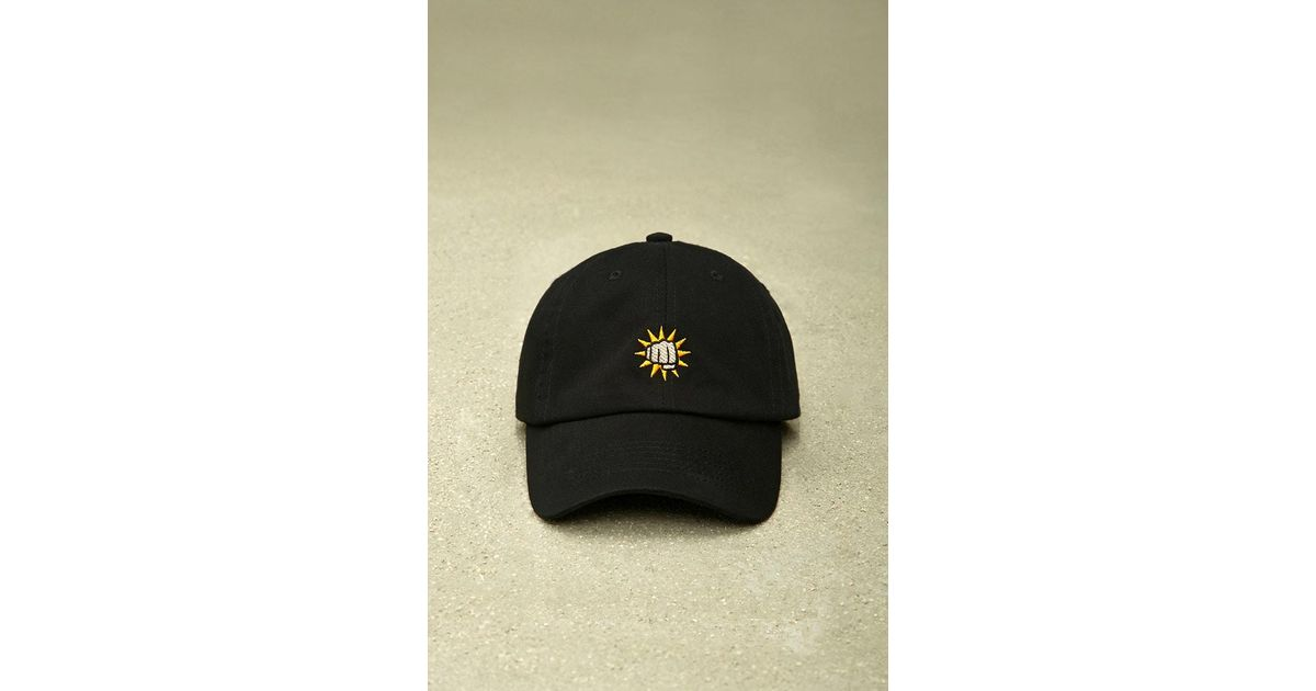f100caffda Lyst - Forever 21 Hatbeast Fist Bump Dad Cap in Black for Men