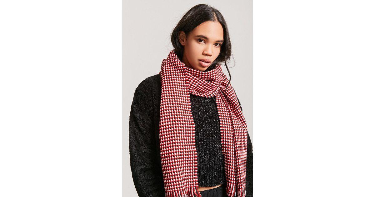Black and Gold houndstooth Harris Tweed scarf wool scarf