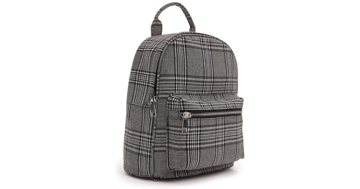 be134dd26cf3 Lyst - Forever 21 Glen Check Backpack in Gray