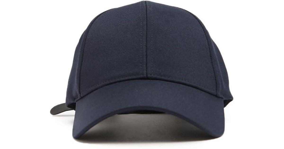 f33f57e67 Forever 21 's Faux Leather-strap Dad Cap in Blue for Men - Lyst