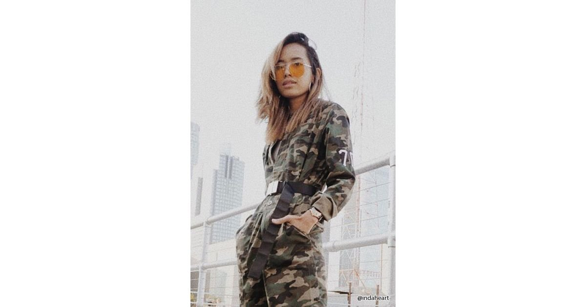 Lyst Forever 21 City Of Angels Camo Jumpsuit