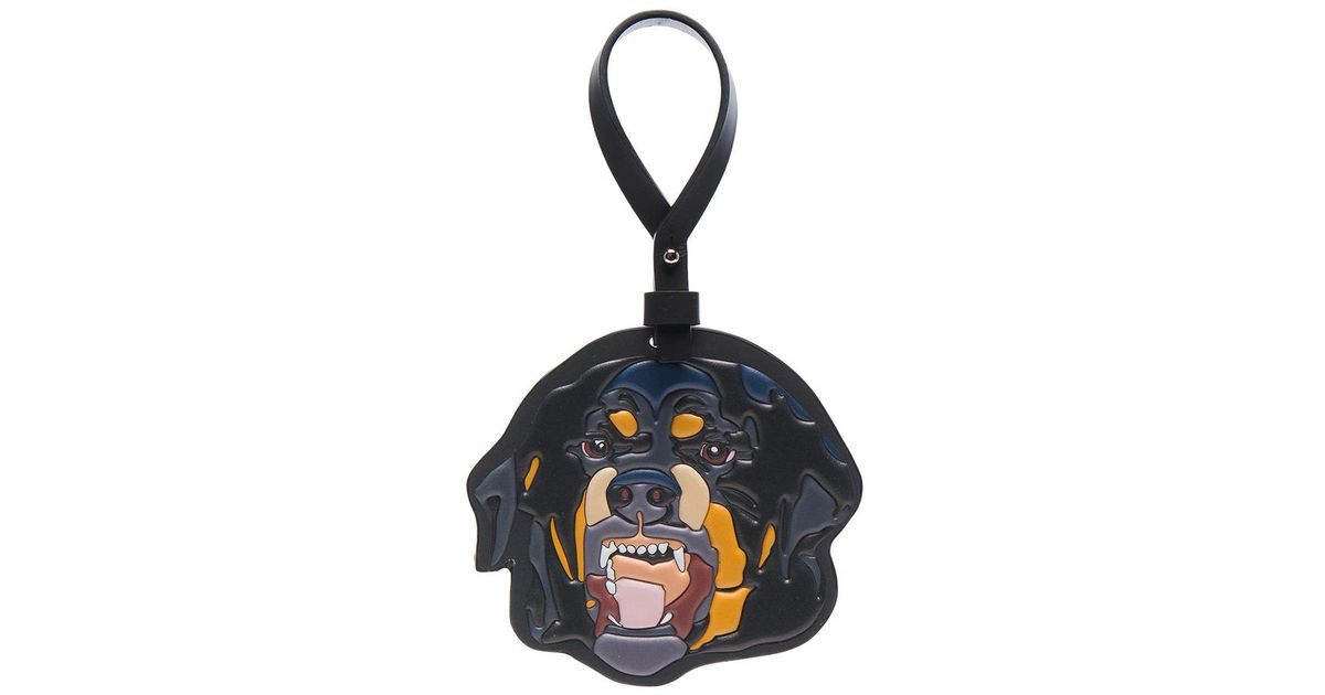 Lyst - Givenchy Rottweiler Keychain in Blue be655fae1