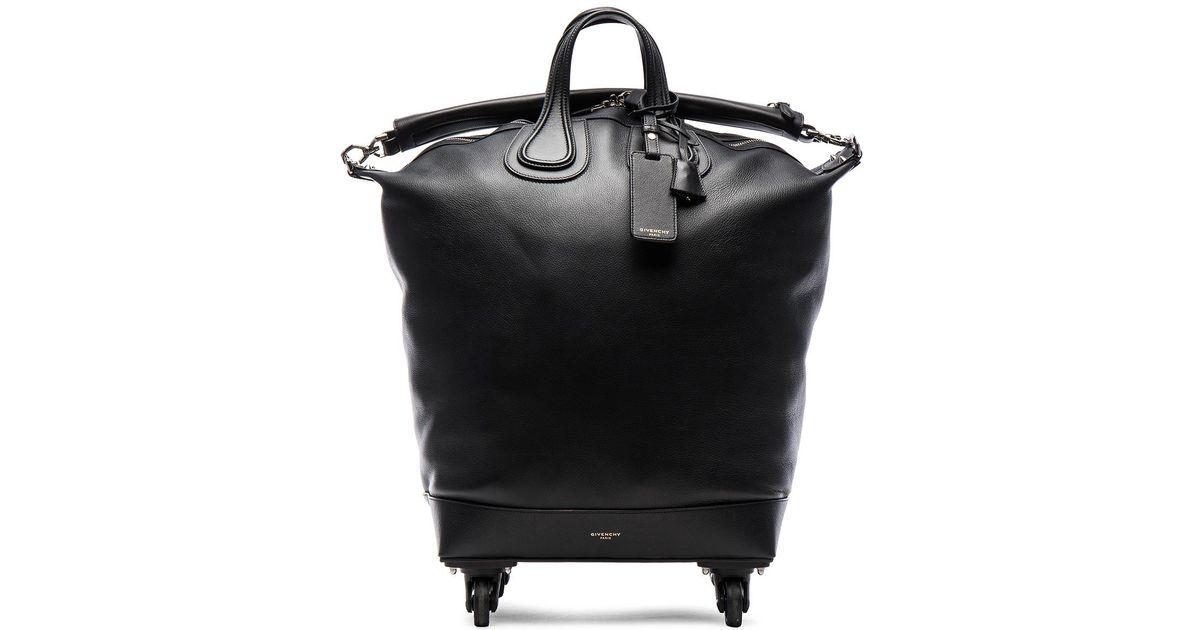 42b88466fd05 Lyst - Givenchy Nightingale Trolley Bag in Black