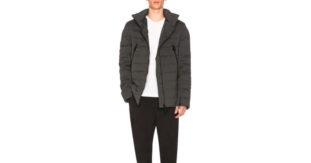 Lyst - Y-3 Matte Down Jacket in Gray f29086f30fe33