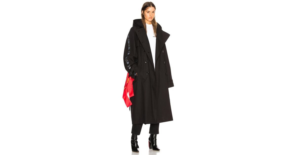 Synthetic Plastic Bag Trench Coat, Plastic Trench Coat