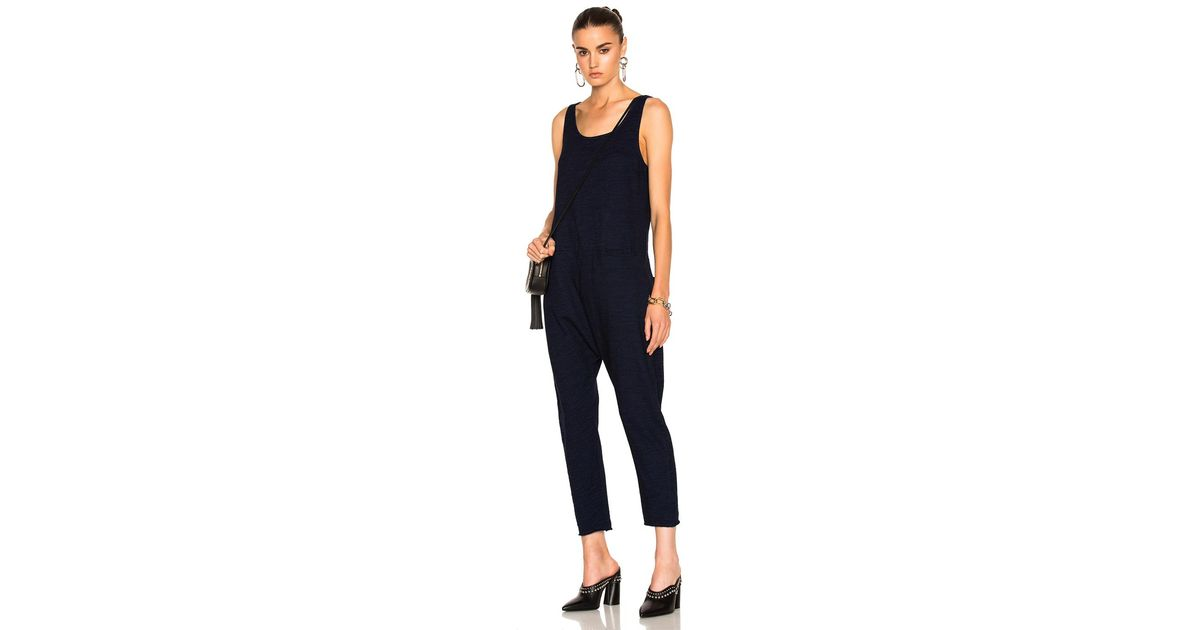 4badcf58d3e1 Lyst - AG Jeans Abyl Jumpsuit in Blue