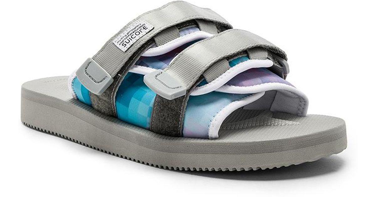6f737738c95 Lyst - John Elliott X Suicoke Sandals in Blue