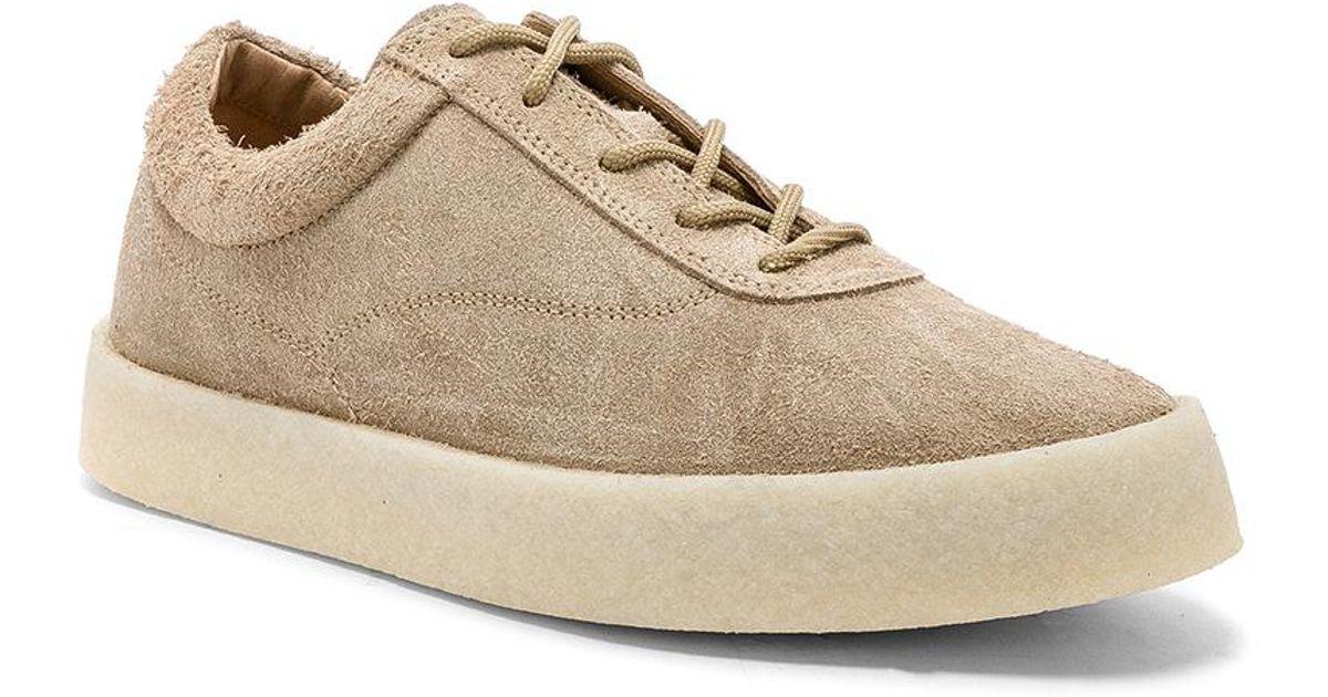e914c40549310 Lyst - Yeezy Season 6 Crepe Sneaker in Natural