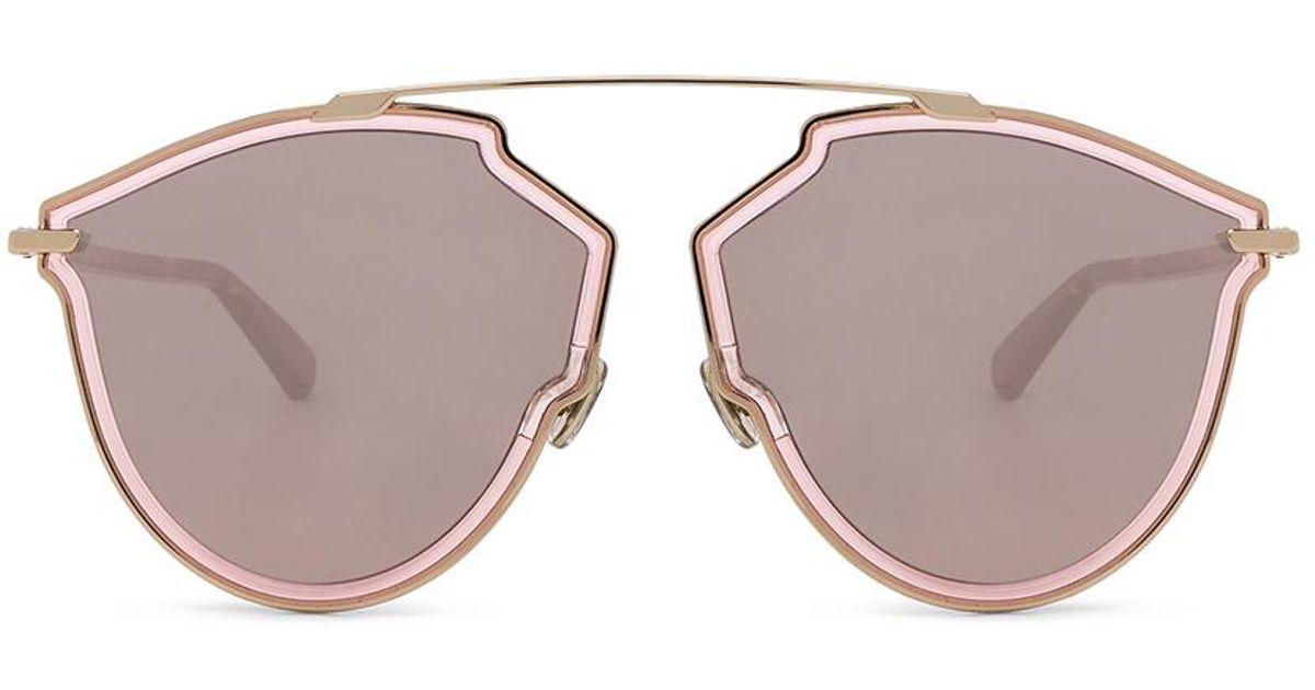 86408266b454 Lyst - Dior So Real Rise Sunglasses