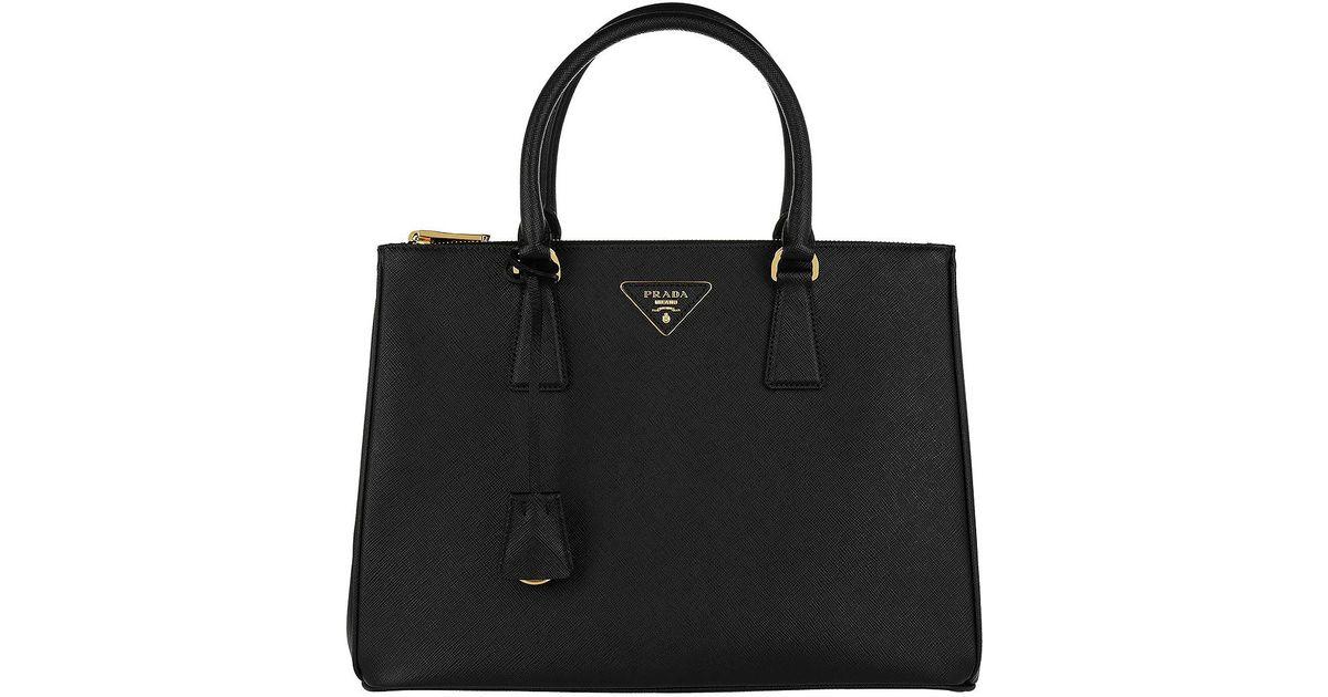 9453f3ded9e3 Prada Galleria Tote Bag Medium Nero in Black - Lyst