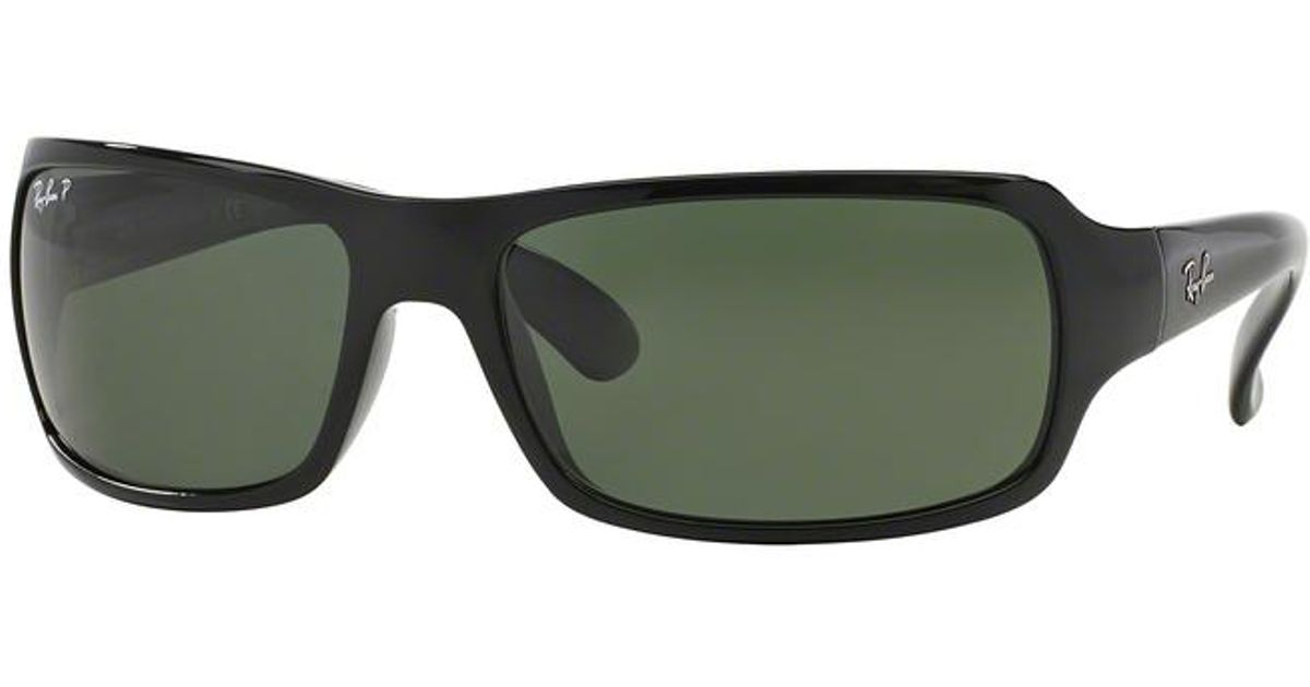 457fe50bc3 Lyst - Ray-Ban 4075 Black in Black for Men