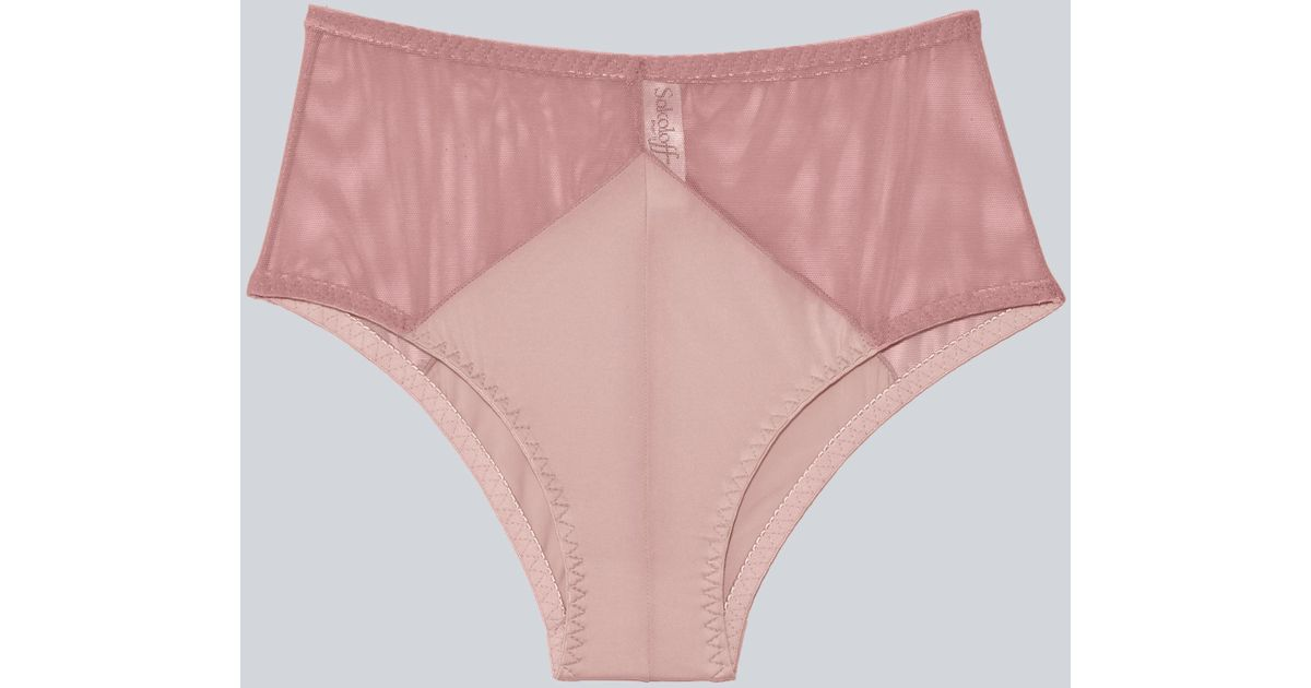 e911dfcef1 Lyst - Frank And Oak Sokoloff X Celeste Brief In Dusty Pink in Pink