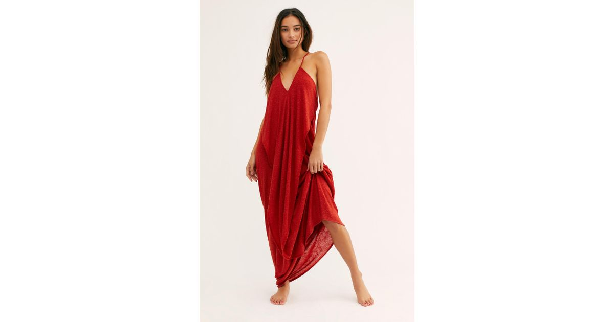 Free People Synthetic Positano Maxi Dress By Fp Beach in