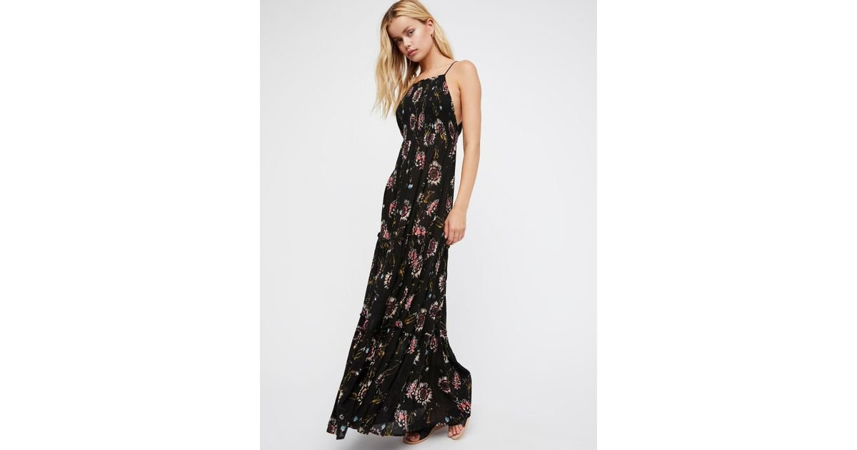 b9e55781157 Free People Black Garden Party Maxi Dress