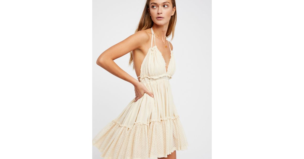 1fde2f2df1 Free People 100 Degree Dress in Brown - Lyst