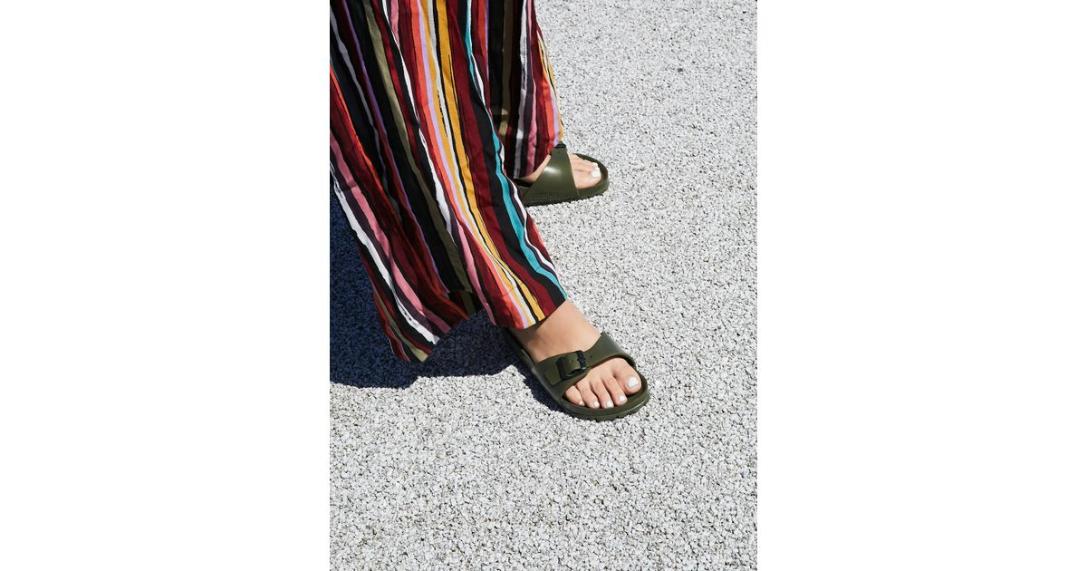 5d3b821c265230 Free People Eva Madrid Birkenstock in Green - Lyst
