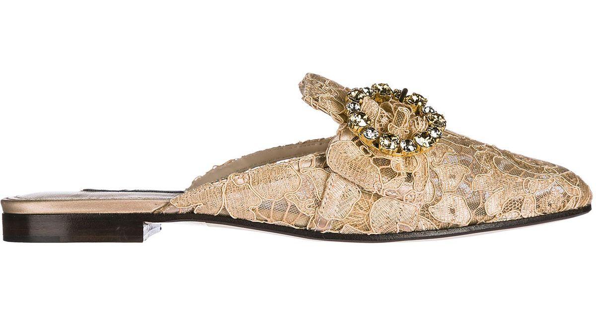 Jaquard JACKIE Slippers Spring/summerDolce & Gabbana HbuxJUsvq