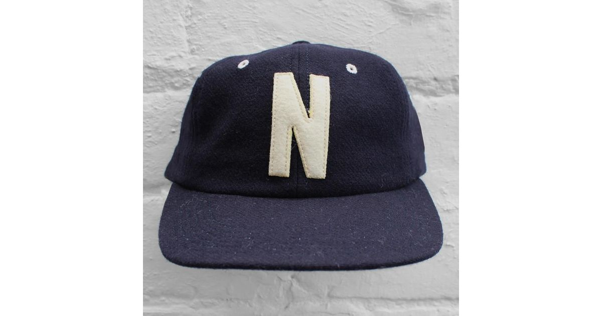 Norse Projects Wool 6 Panel Cap in Blue for Men - Lyst c54cac13433