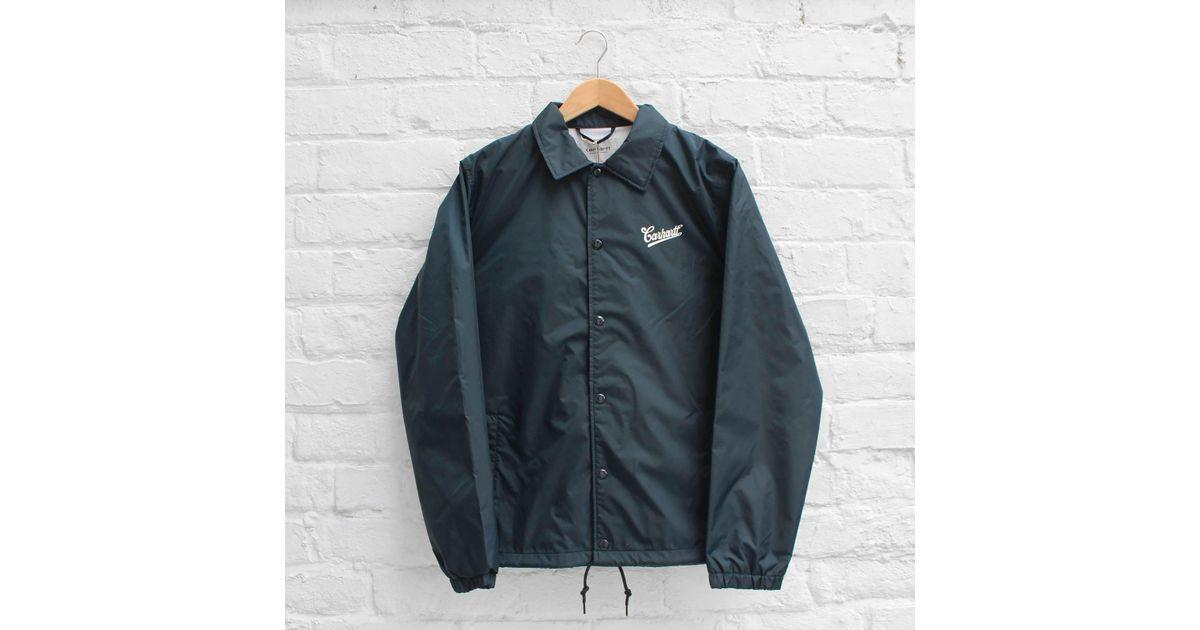 sklep internetowy super tanie niepokonany x Carhartt Blue Wip Strike Coach Jacket for men