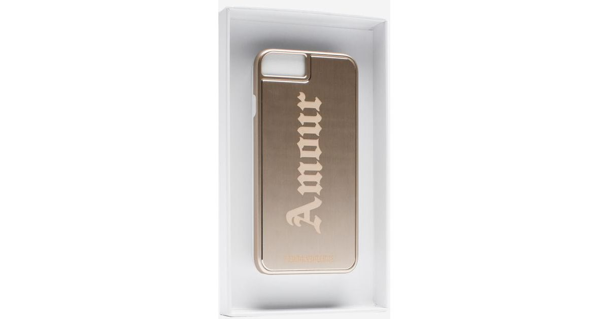 zadig and voltaire gold Coque Iphone Amour Met