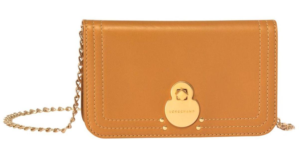 Pochette chainette Cavalcade Longchamp en coloris Brown