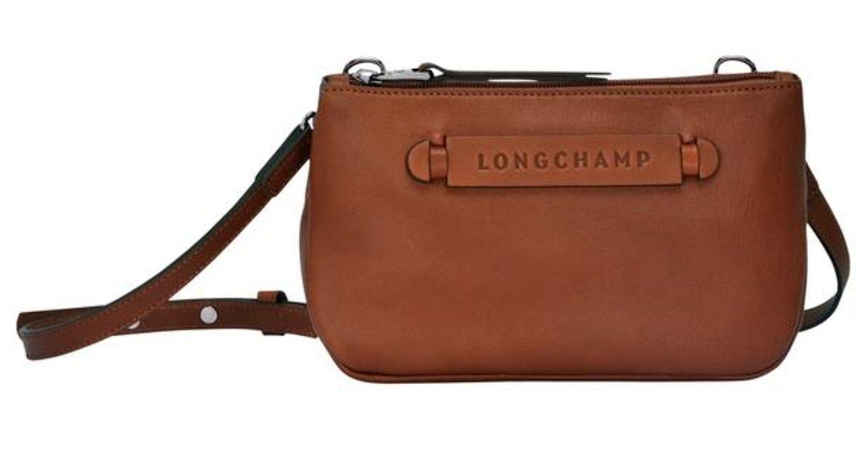 Sac porté travers 3D Longchamp en coloris Brown
