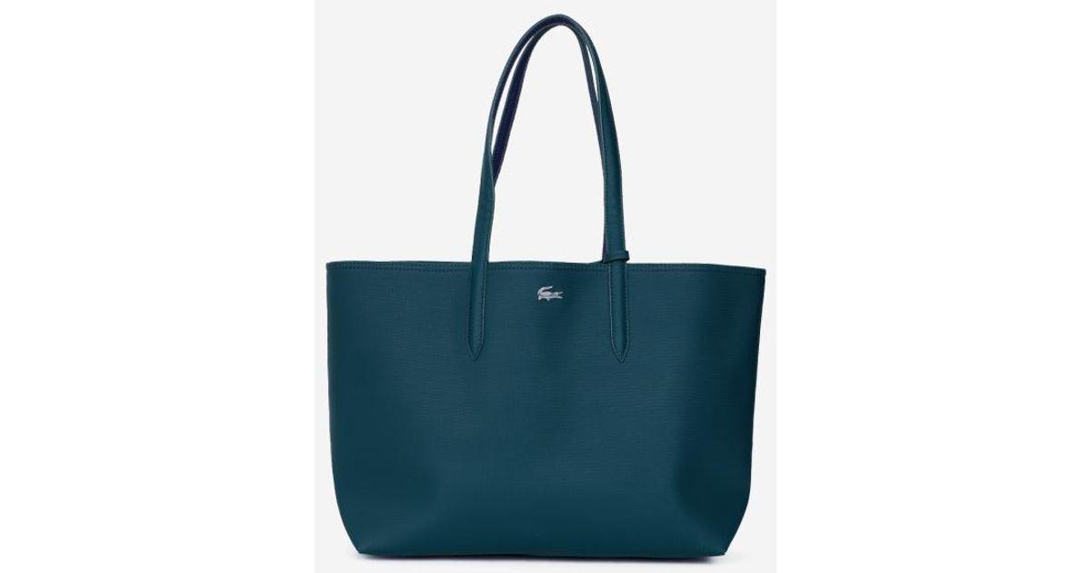 4a24d67a6e Lacoste En Coloris Anna Réversible Vert Shopping Lyst Sac dxshrCQt