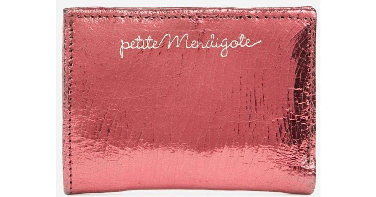 énorme réduction ffe54 128e0 Portefeuille Crush Petite Mendigote en coloris Pink