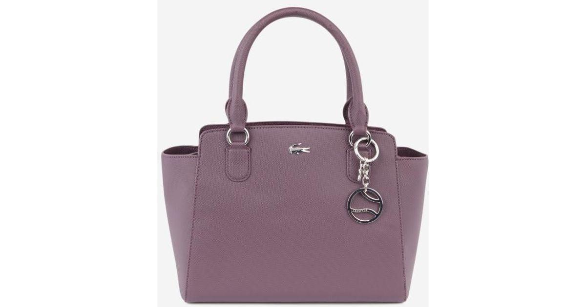 Sac Lacoste En Cabas Coloris Daily Purple Classic wXTZilkPOu