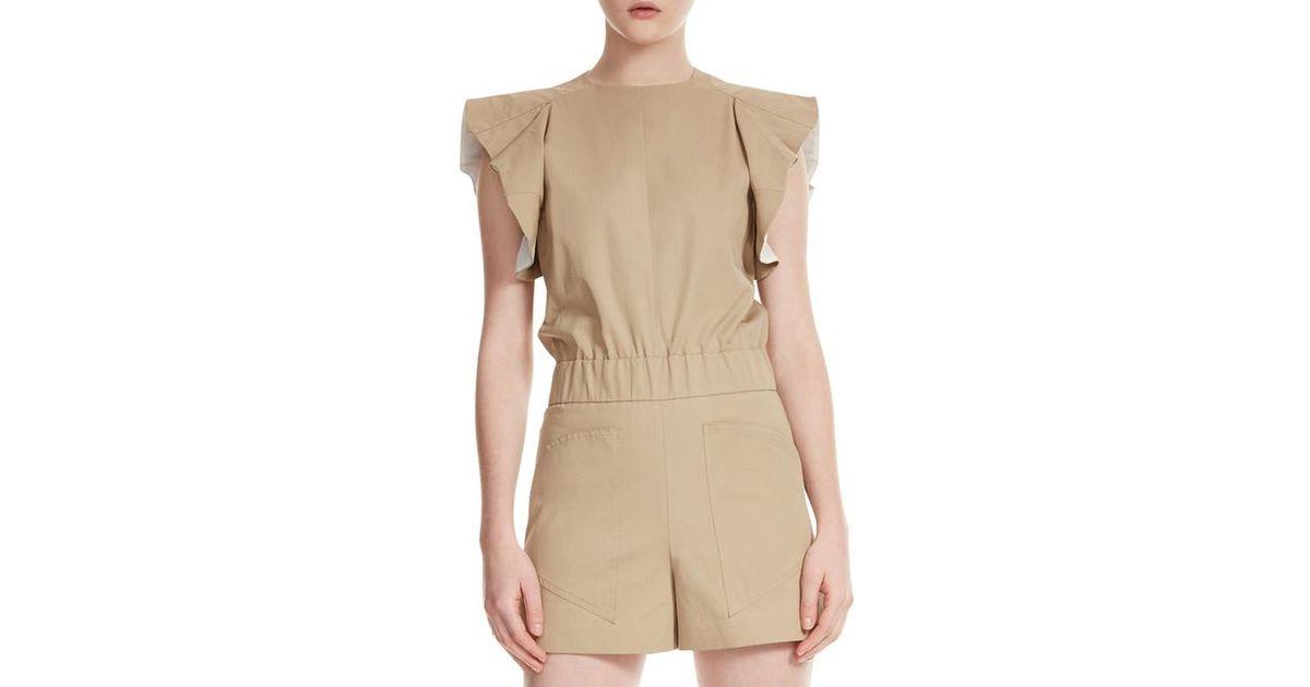 color Iparvin Maje Shorts natural en 5RLj4A