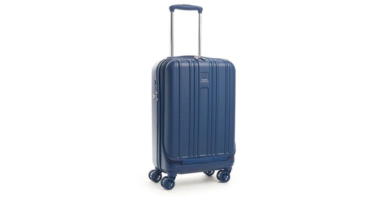 9a9b491a508 Lyst - Valise rigide cabine Transit 4R 55 cm Hedgren en coloris Bleu