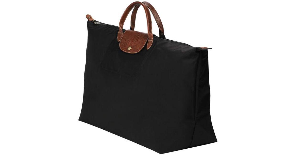 Pliage Sac Noir Xl De Voyage Le Coloris Longchamp En Lyst bfgY76y