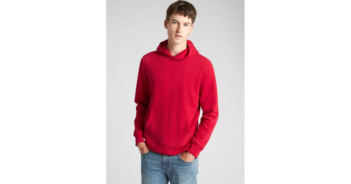 5764638a Gap Vintage Soft Pullover Hoodie in Red for Men - Lyst