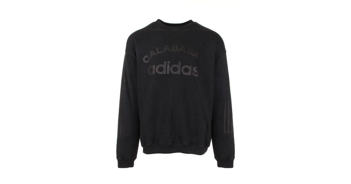 Yeezy Multicolor Season 5 Crew Neck Calabasas Adidas Sweatshirt Ink for Men Lyst