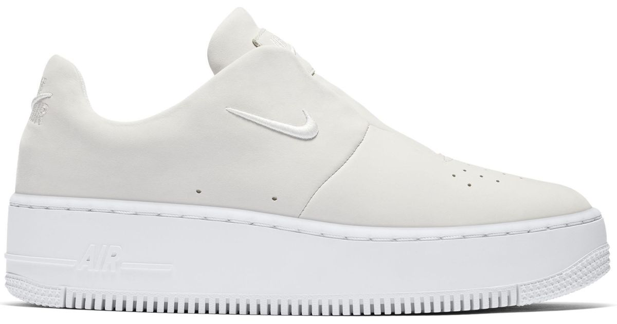 d73e2ced3ac Nike Sneakers Air Force 1 Sage Xx in White - Lyst
