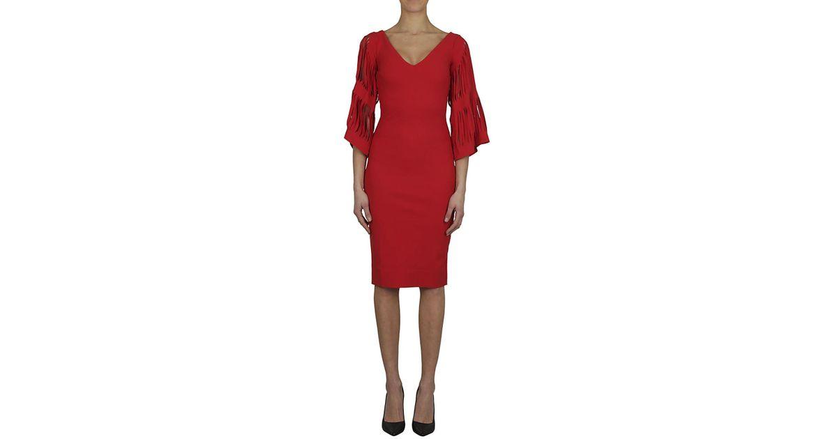 82824282bd7e Chiara Boni CHIARA BONI Abito tubino rosso in Red - Lyst