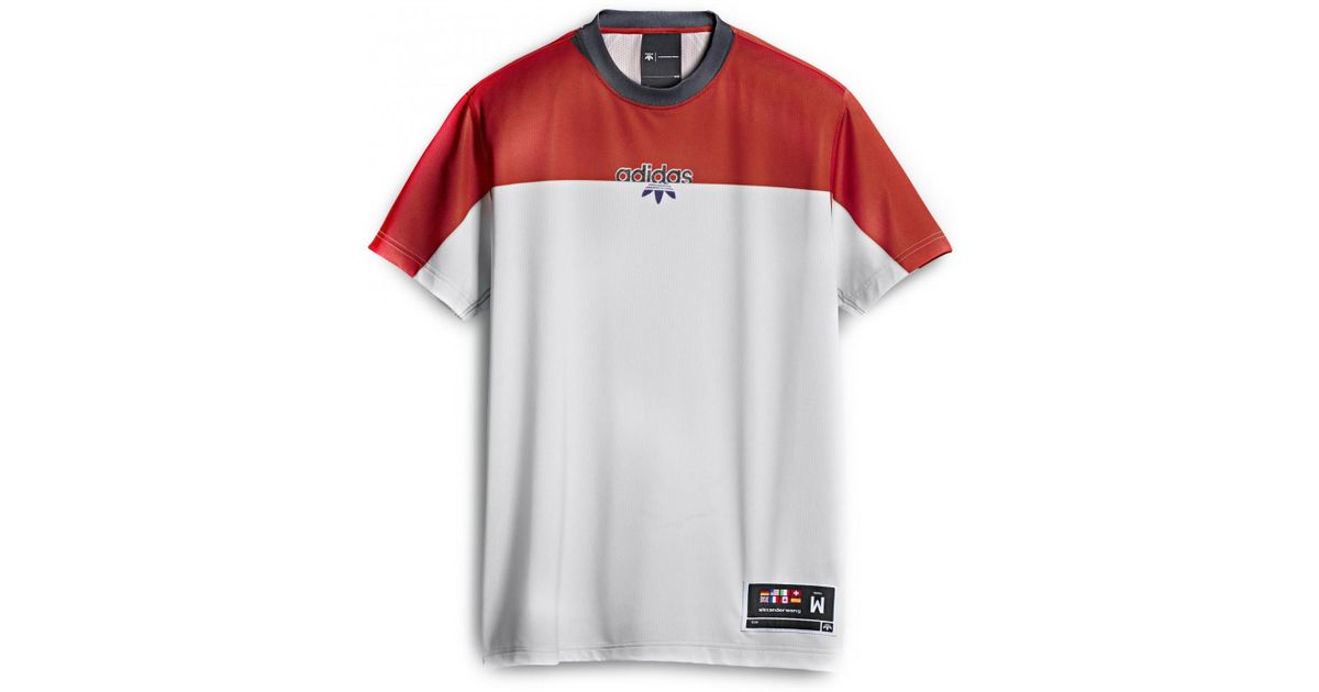 6edd5e77d3 Alexander Wang - Multicolor ADIDAS BY ALEXANDER WANG t-shirt photocopy  bianca rossa for Men - Lyst