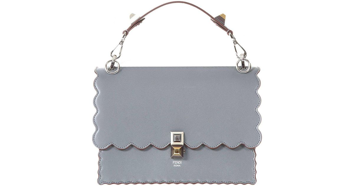 24a9c0244d25 Fendi Handbag Shoulder Bag Women in Gray - Lyst