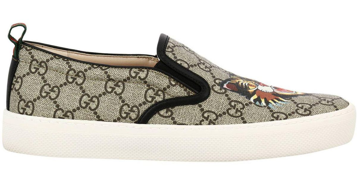 Lyst - Gucci Shoes Women in Natural 586a960308822