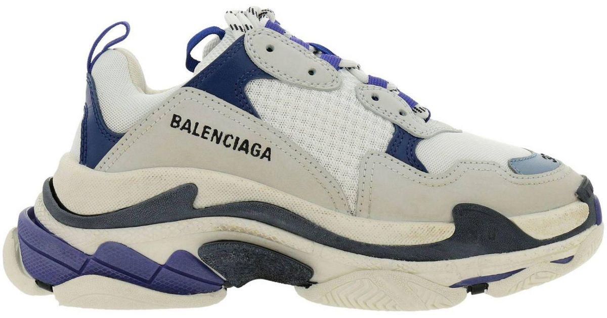838faeb27d425 Lyst - Balenciaga Sneakers Shoes Women in White
