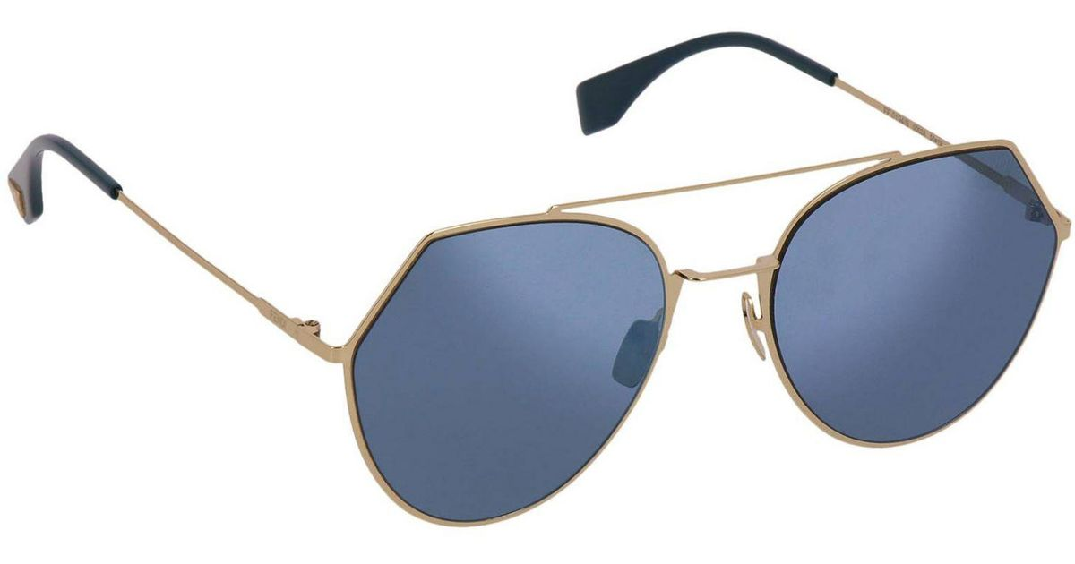 ab1e1f0650b Lyst - Fendi Eyewear Men in Blue for Men