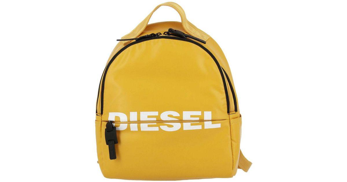 4a9953a37 DIESEL Backpack Shoulder Bag Women in Yellow - Lyst