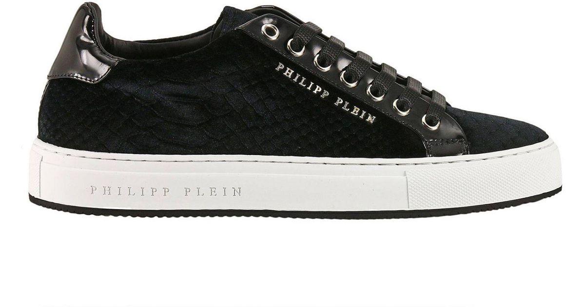 Philipp Plein Leather Shoes Women in