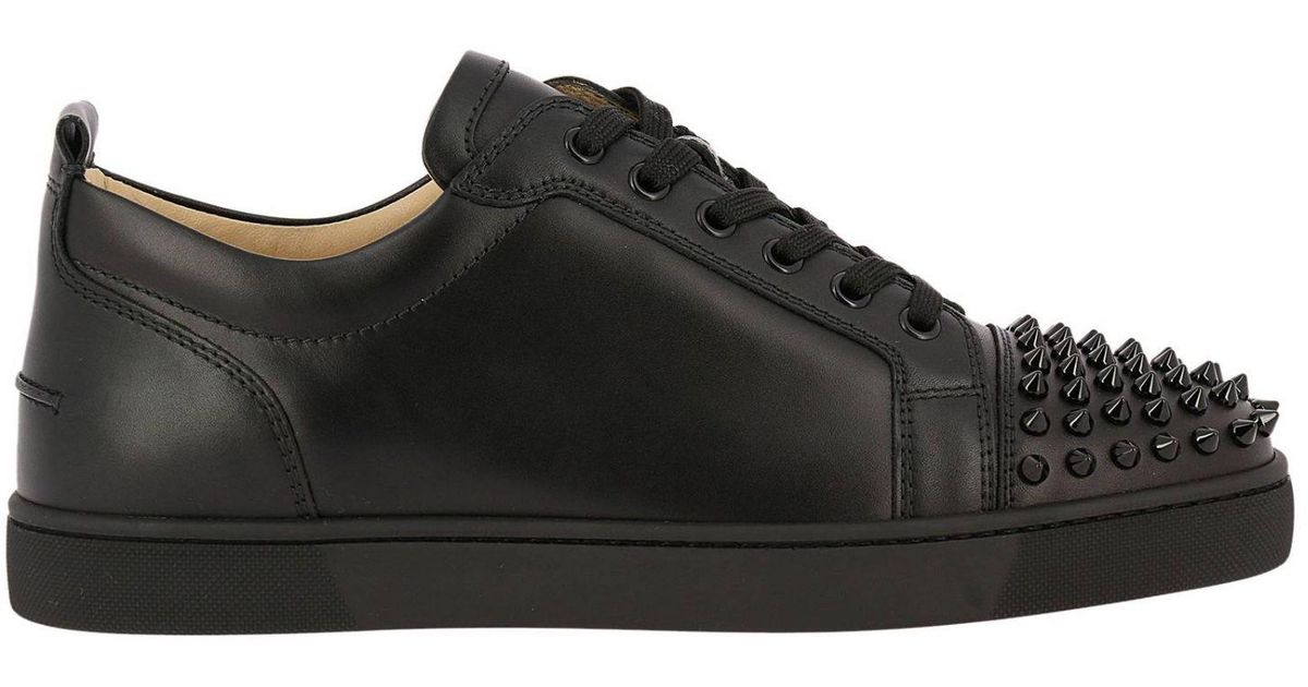 17521f970997 Christian Louboutin Sneakers Shoes Men in Black for Men - Lyst