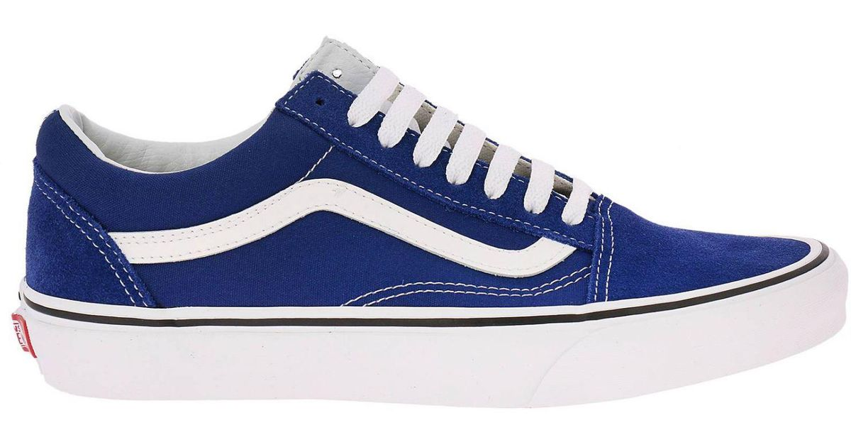89566ea71d0 Lyst vans sneakers shoes men in blue for men jpg 1200x630 Royal blue vans  shoes